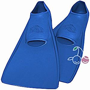 Ласты детские эластичные маленький размер 28-30 синие закрытая пятка SwimSafe (Свимсейф) Германия